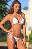 White French Riviera Crochet Bikini BOTTOM ONLY