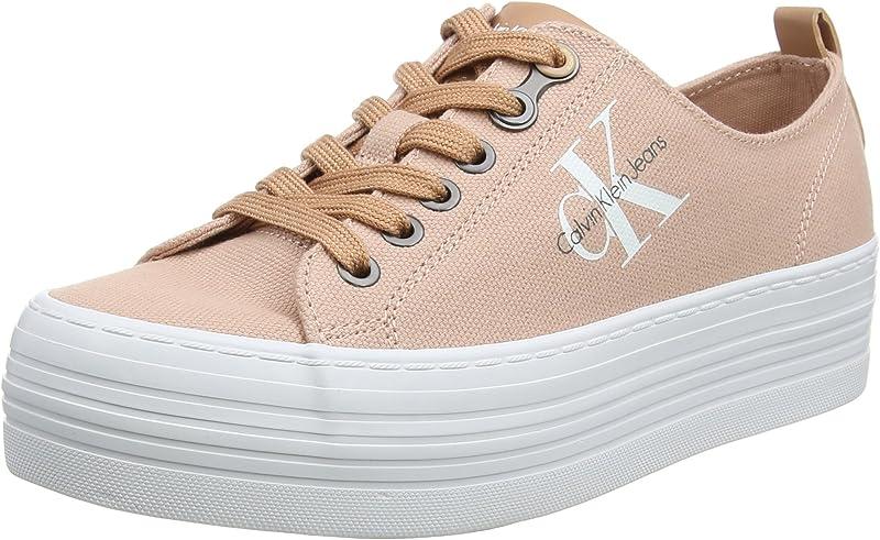 Calvin Klein Jeans Zolah Canvas Sneaker Damen Pink