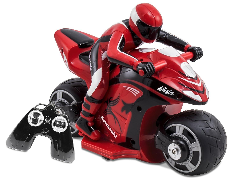 Kid Galaxy Rc Kawasaki Ninja Bike Red Black Toys Games
