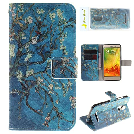 Funda para Xiaomi Redmi Note 3 Flip, Xiaomi Redmi Note 3 Funda Piel, Moon mood® ...