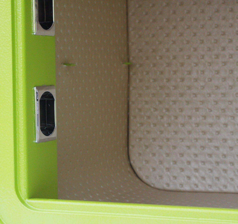 Taille 350 Coffre-Fort /à Empreinte Digitale MySafe Vert Plusieurs Couleurs Disponibles