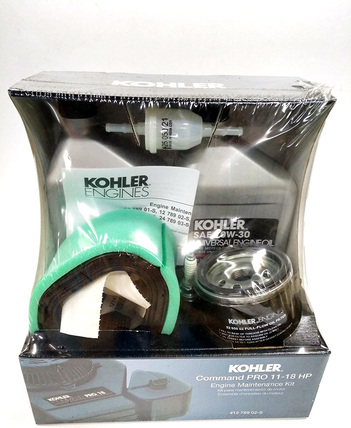 Kohler 1278902S Engine Maintenance Kit Command Single Cylinder PRO CV11-18, CV460 - CV490