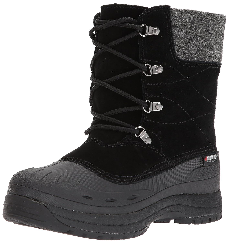 Baffin Women\'s Arnaq Snow Boots, Black, 8 M US Baffin Womens DRIFW021