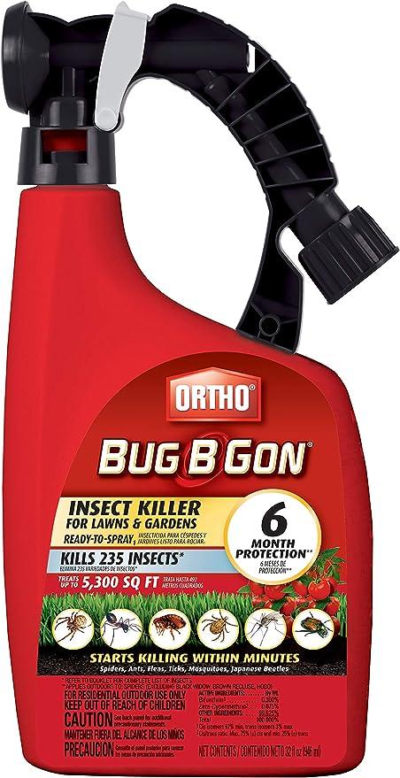 Ortho Bug B Gon 32 onzas Listo para rociar insecticida para césped y Jardines: Amazon.es: Jardín