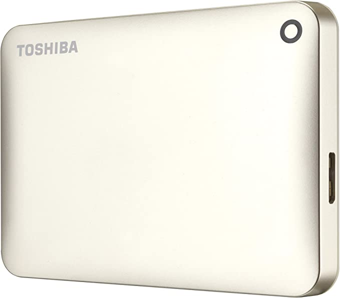 Toshiba Canvio Connect II - Disco duro externo de 1 TB (USB 3.0, 6 ...