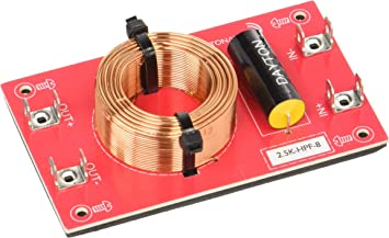 Dayton Audio 3k-HPF-4 High Pass Speaker Crossover 3,000 Hz 12 dB//Octave
