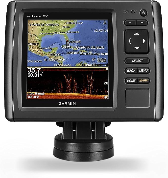 Garmin 010-01566-01 - GPS echoMAP Chirp 52dv WW Sonar con xdcr ...