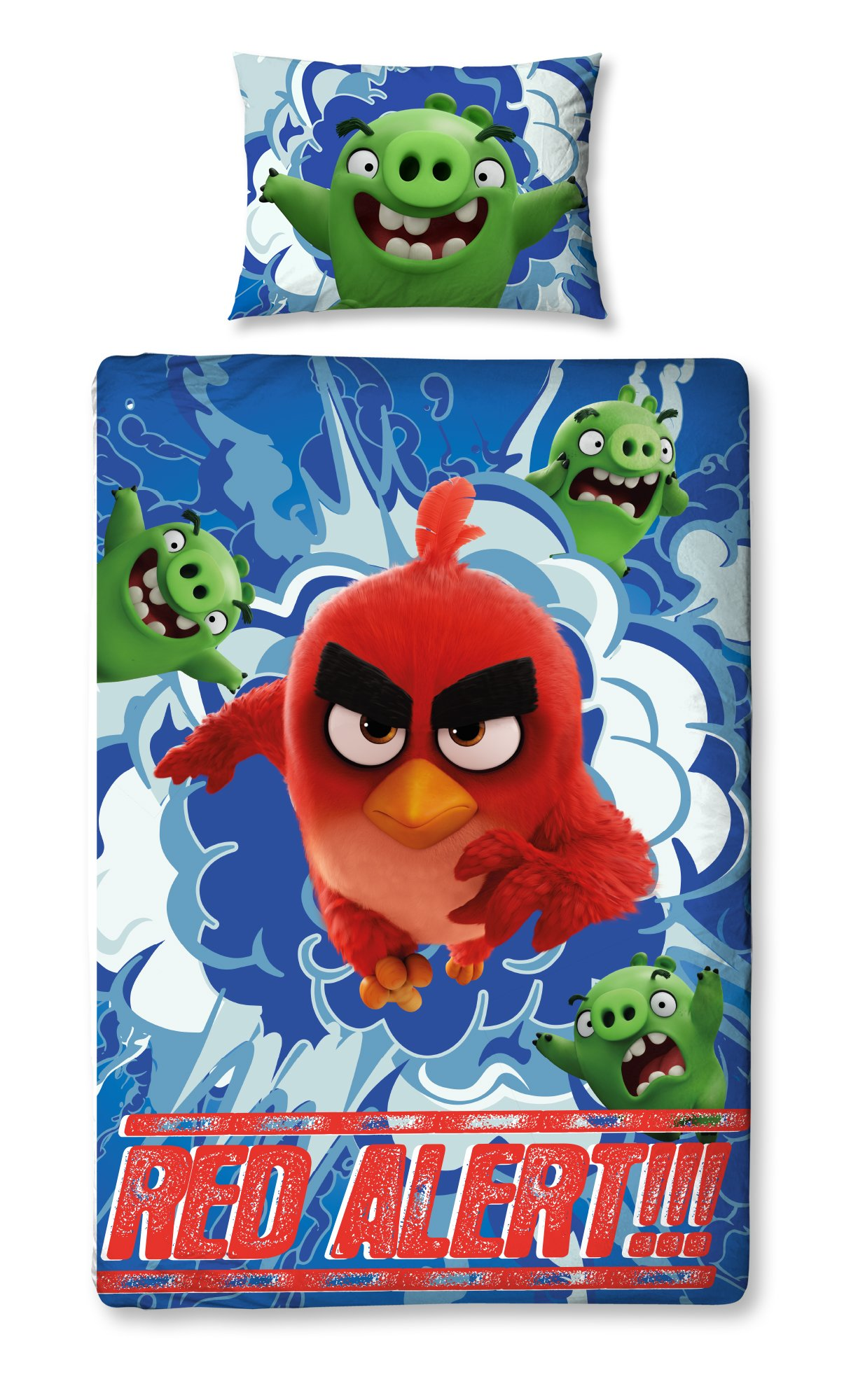 Angry Birds Movie Reversible Single Duvet