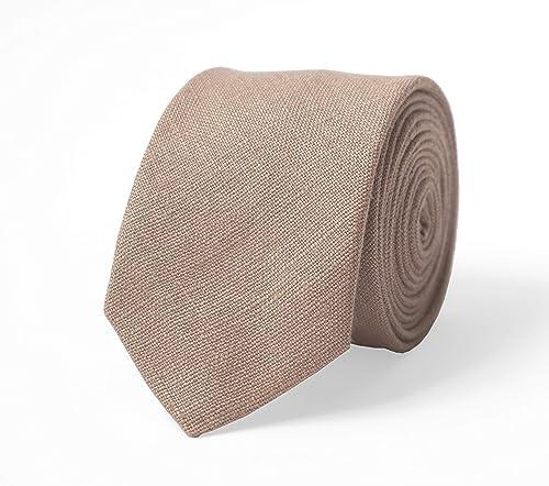 Tie Pearl Sheer Leaves Smoky Grey Metallic Men/'s skinny tie Tan Taupe Brown Silver Wedding Ties Cool Grey Groomsmen Neckties Special Order