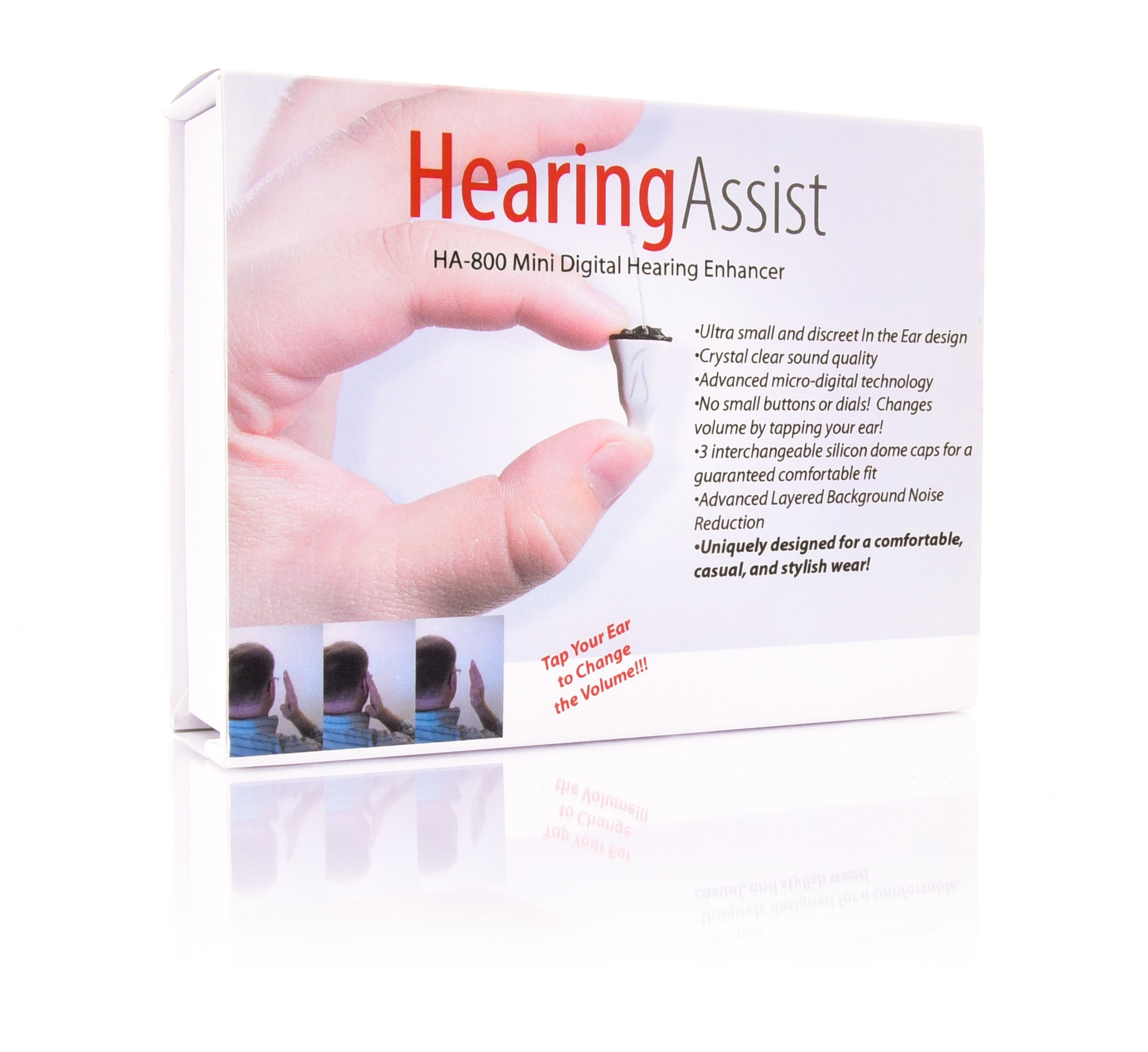 Hearing Assist | HA-800 | In the Ear Air Conduction Hearing Aid | (Right Ear)