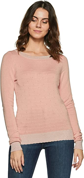 Vero Moda Vmmontclair LS Boatneck Blouse suéter para Mujer