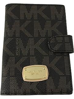 845180b18494 Michael Kors Jet Set Passport Case Holder Signature MK PVC