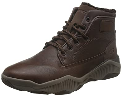 Skechers Ridge Fowler Herren Stiefel Outdoor Schuhe Leder