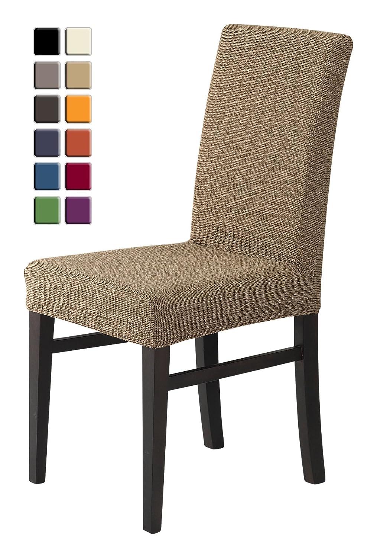 SCHEFFLER-HOME Zara Fundas de sillas 2 piezas, estirable ...