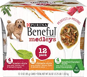 Purina Beneful Medleys Adult Wet Dog Food Variety Pack