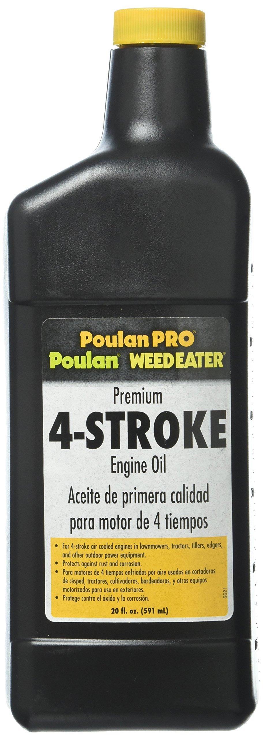 Poulan Pro Lawn Mower Engine Oil 30W 20oz PP60019