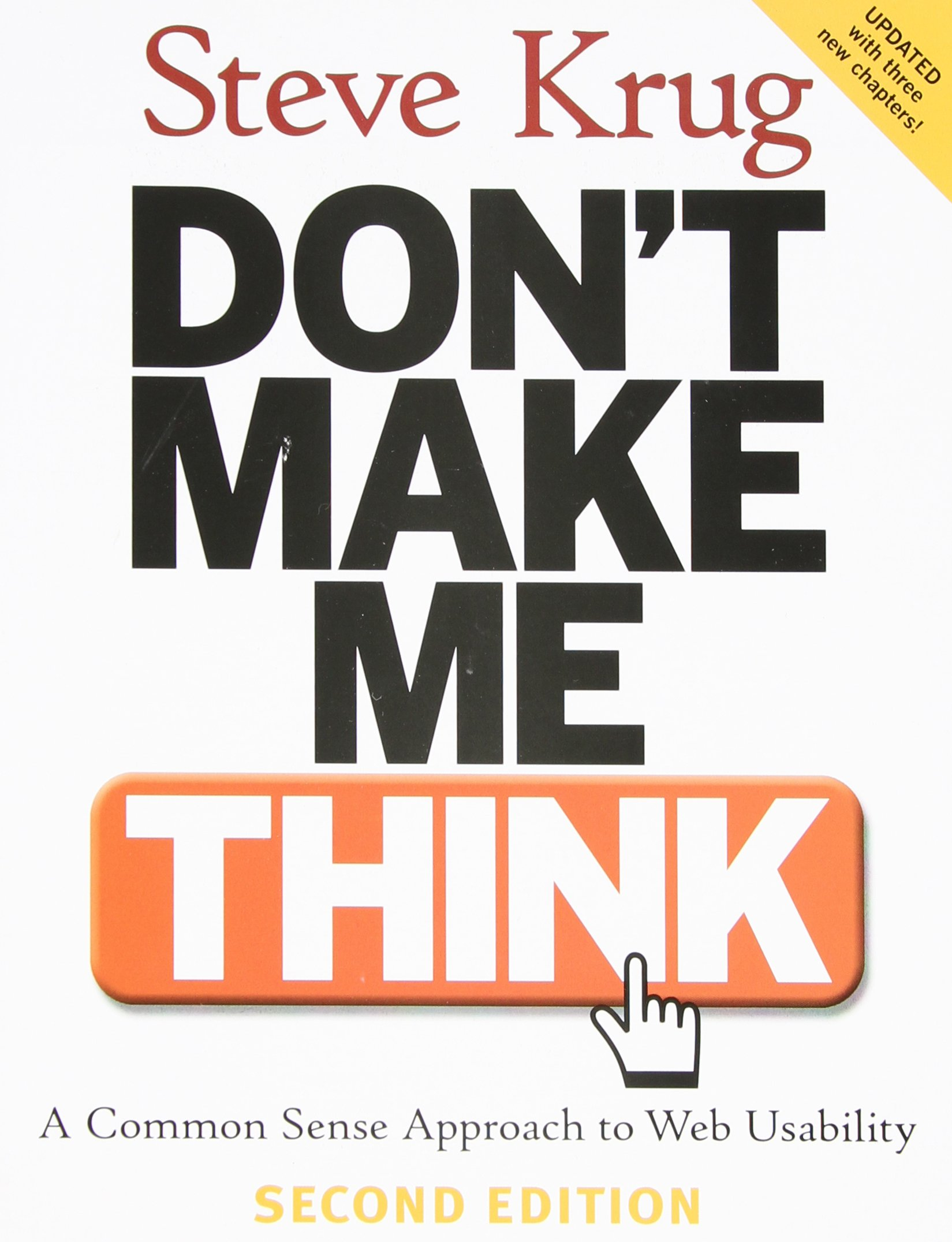 Buy Dont Make Me Think A Common Sense Approach To Web Usability Electronics Free Download Ebook Pdf Book Online At Low Prices In India