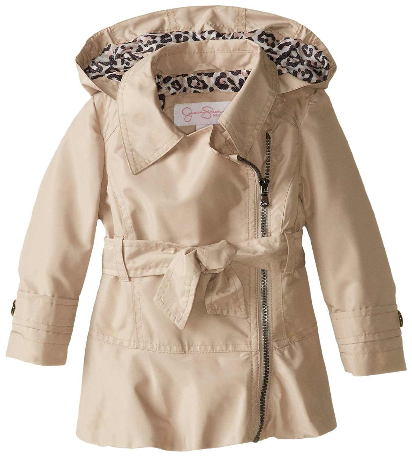 Amazon Jessica Simpson Little Girls Trench Coat with Side Zip