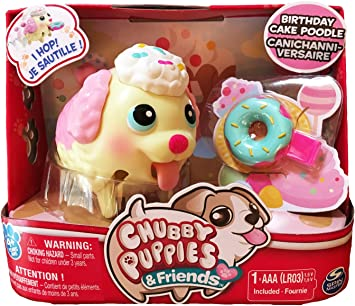 Brilliant Chubby Puppies Friends Candy Birthday Cake Poodle Super Rare Funny Birthday Cards Online Aeocydamsfinfo