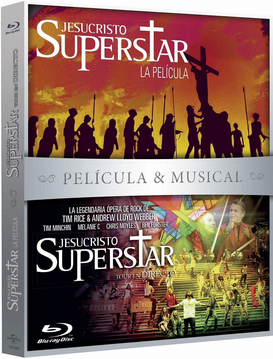 Pack: Jesucristo Superstar Pelicula + Musical BD Blu-ray: Amazon.es: Ted Neeley, Carl Anderson, Yvonne Elliman, Barry Dennen, Norman Jewison, Ted Neeley, Carl Anderson, Universal Pictures: Cine y Series TV