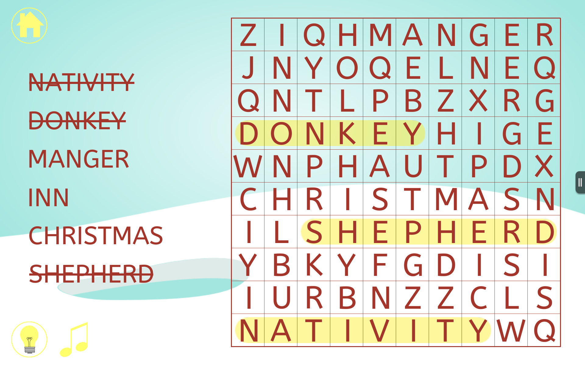 Amazon Christmas Word Search Holiday Word Find Game for Kids