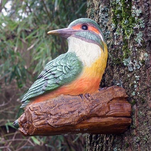 Adorno para jardín con diseño de pancarta de madera, se fija al árbol: Amazon.es: Jardín