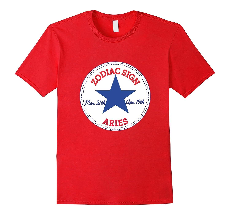 ZODIAC SIGN Aries T-Shirt - born im March & April T-Shirt-TH