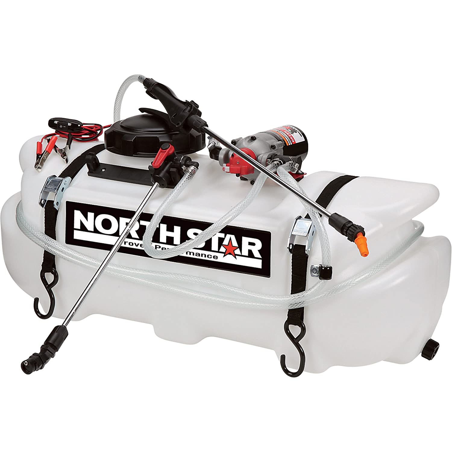 81OIF9buOML._SL1500_ amazon com northstar atv broadcast and spot sprayer 16 gallon Spot Sprayer UTV at crackthecode.co