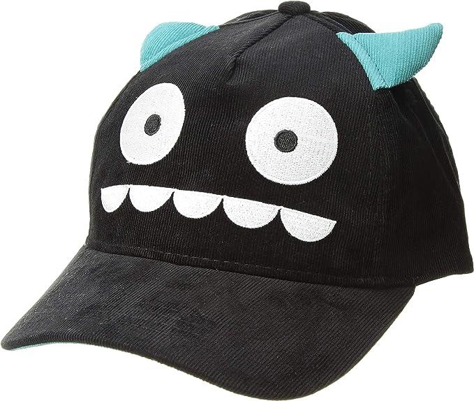 5cd395ab3e3 San Diego Hat Company Kids Unisex Curved Teeth Monster Ball Cap (Little Kids  Big