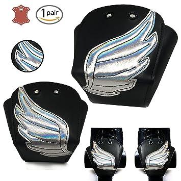 Piel de ruedas para los dedos con plata alas, Silver wings: Amazon.es: Deportes y aire libre