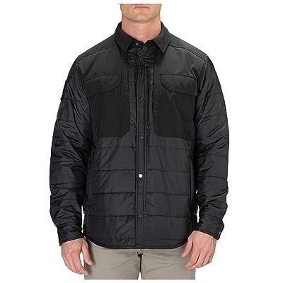 5.11 Tactical Men's Peninsula Insulator Shirt Jacket, RAPIDraw Center Front Snap, Style 72123 at Amazon Men's Clothing store