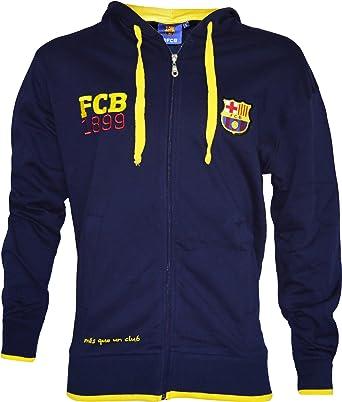 Fc Barcelone Veste Sweat zipp/é Bar/ça Collection Officielle Taille Adulte