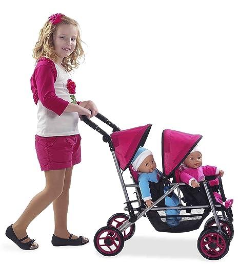 Muñecas Arias - Silla Muñeca Gemelos Mammy&Baby 36X55X72 61-40319 (surtidos: colores aleatorios