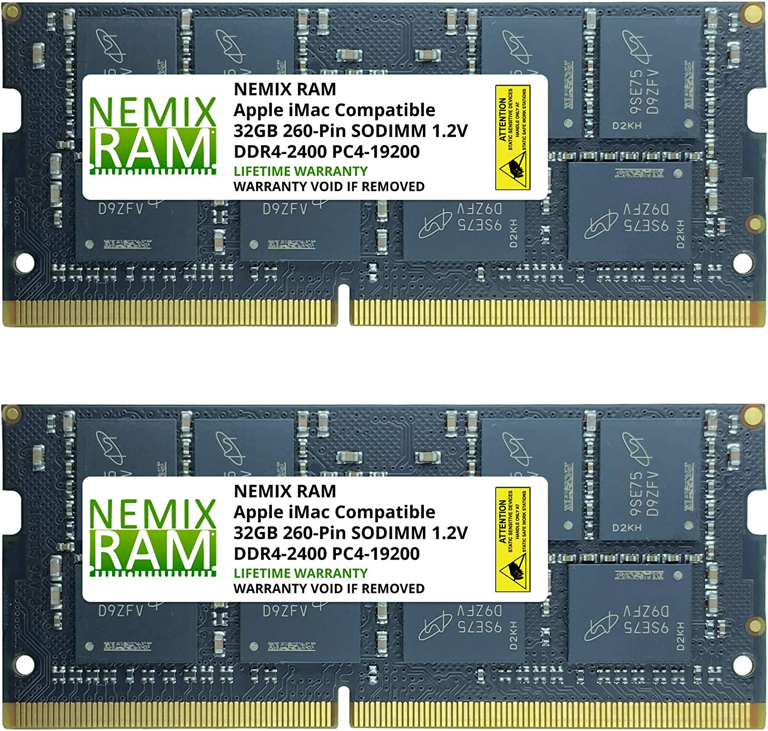 "64GB 2X32GB NEMIX RAM Memory for Apple iMac 2017 21.5"" Retina 4K & Non-Retina"