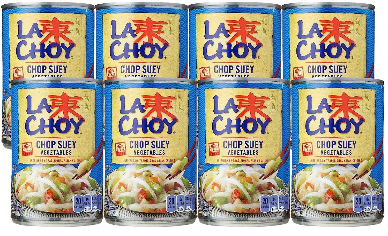La Choy CHOP SUEY VEGETABLES Asian Cuisine 14oz (8 pack)