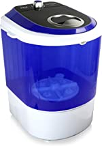 Pyle Upgraded Version Portable Washer - Top Loader Portable Laundry, Mini