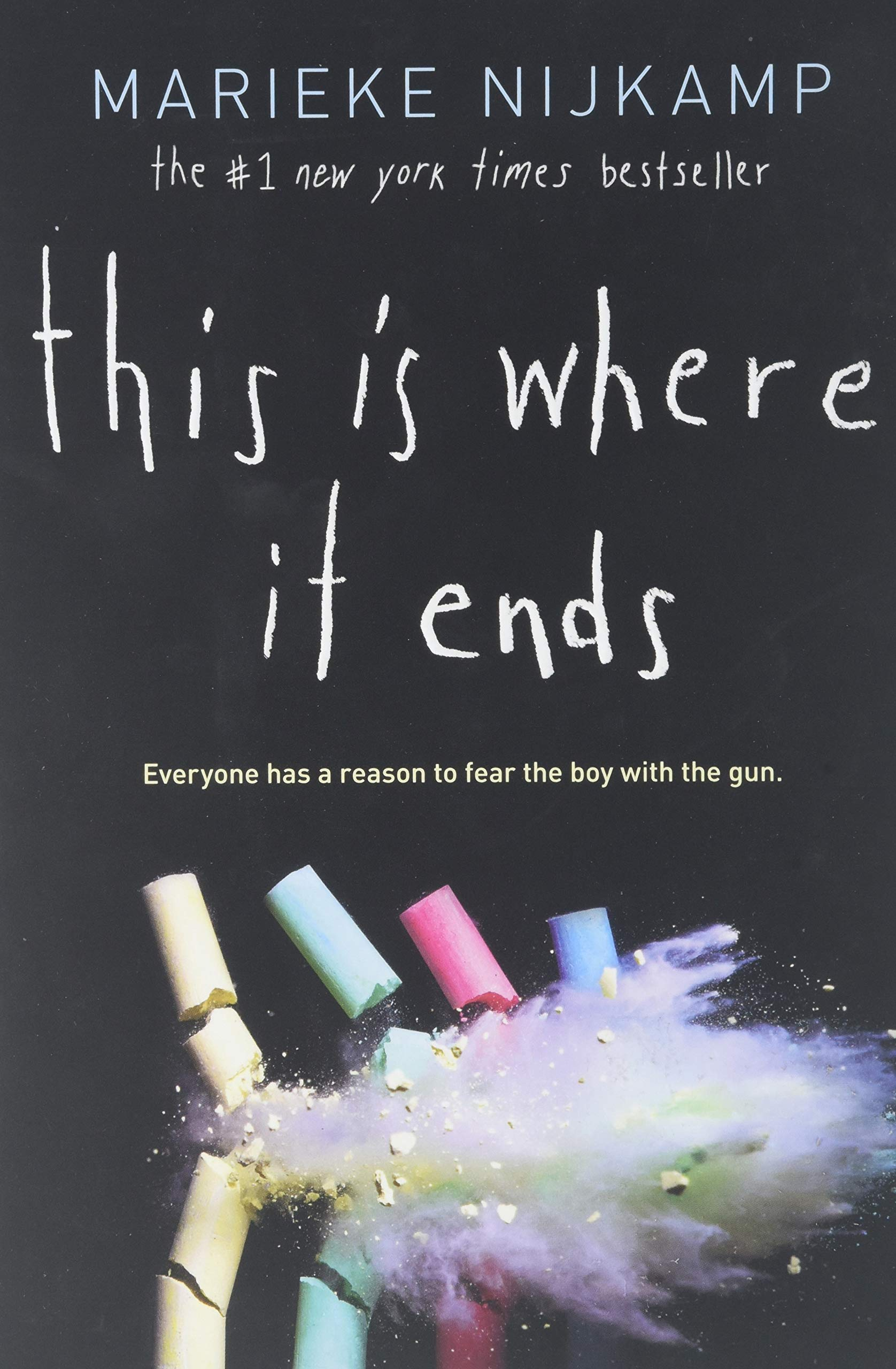 Amazon.com: This Is Where It Ends (9781492675402): Marieke Nijkamp ...