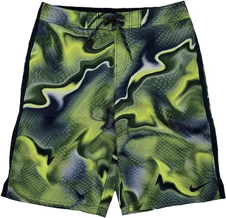 Nike Mens Navy Blue \u0026 Yellow Pixel