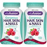 Vitafusion QqfZwz Gorgeous Hair, Skin & Nails Multivitamin, 135 Count (Pack of 2)