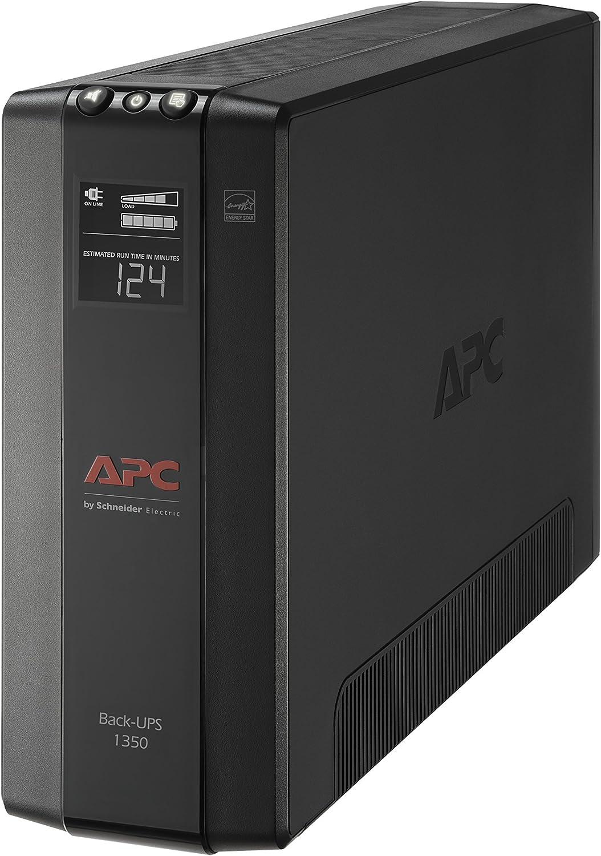 APC BX1350M UPS, 1350VA UPS Battery Backup & Surge Protector