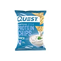 24Pk Quest Nutrition Tortilla Style Protein Chips Ranch 1.1oz Deals