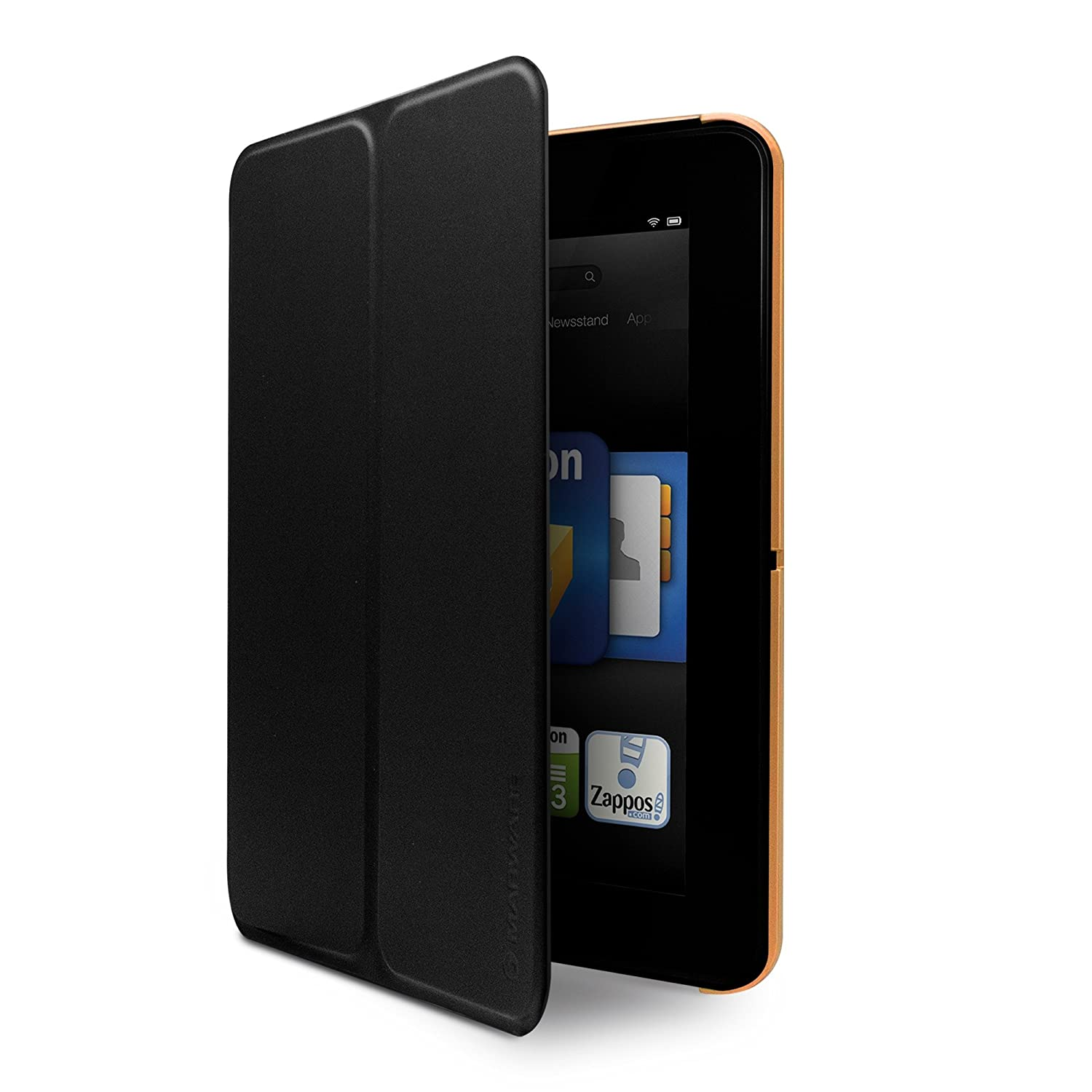 only fits Kindle Fire HD 7 Marware MicroShell Folio Lightweight Standing Case for Kindle Fire HD 7 Orange