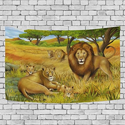 Amazon Sunlome Forest Lion King Home Decor Family