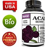 Acai Berry - Detox Cleanse - Antioxidant + Weight Loss Supplement - Immune System Booster - Promotes Digestion & Cardiovascular Health - Superfood + Vitamins - All Natural Pills - Made by Phytoral