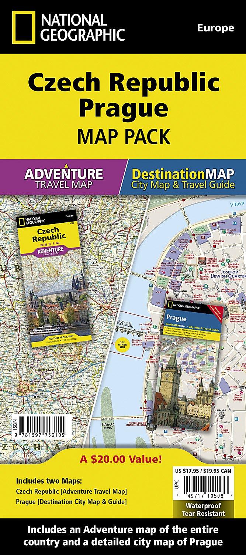Czech Republic, Prague [Map Pack Bundle] (National Geographic ...