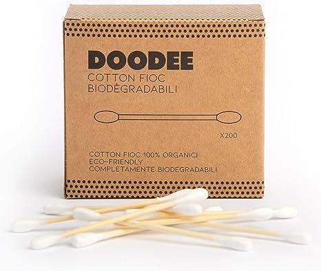 Doodee Cotton Fioc de bambú y algodón (800 varillas) – 100 ...