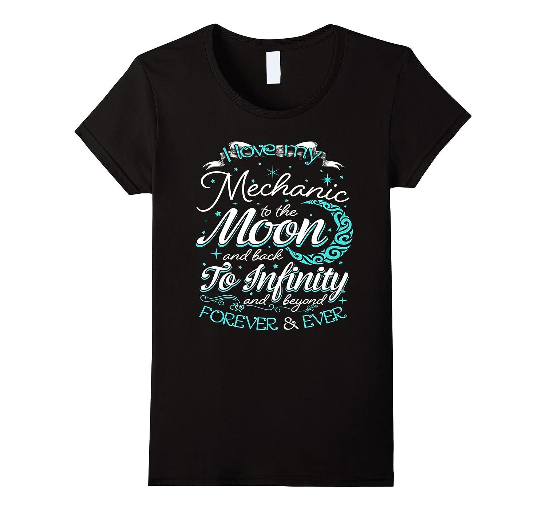 2a16d0e506 Women's I love my mechanic – Funny Mechanic T-Shirt-CL – Colamaga