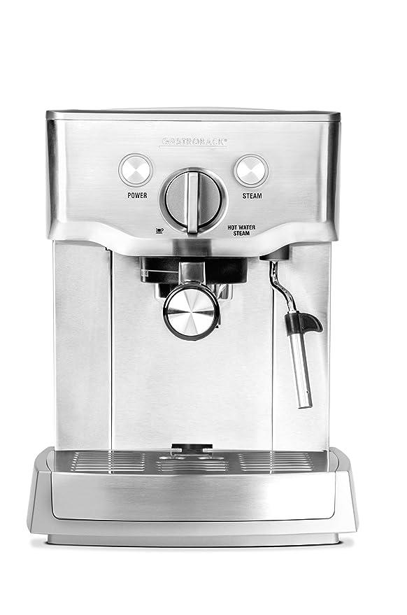 Gastroback Design Espresso Pro cafetera Expresso, 1000 W, 1.5 ...