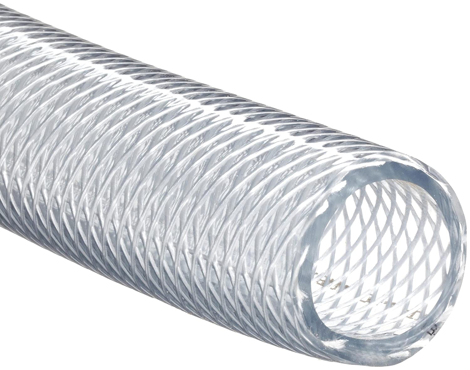 Nalgene 8005 0388 Clear 980 Pvc Braided High Pressure Vinyl Tubing 1 1 2 Id X 1 7 8 Od 50 Length Industrial Plastic Tubing Amazon Com Industrial Scientific