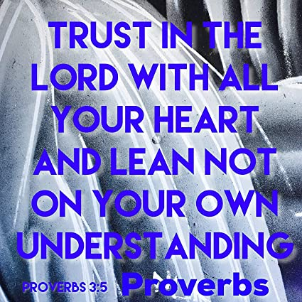 Amazoncom Bible Quotes Belfast 300 X 300 Print Trust In The Lord